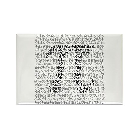 MATH GEEK Rectangle Magnet (100 pack)