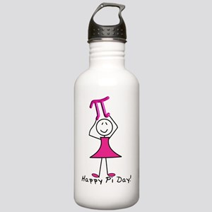 happy pi day stick lad Stainless Water Bottle 1.0L
