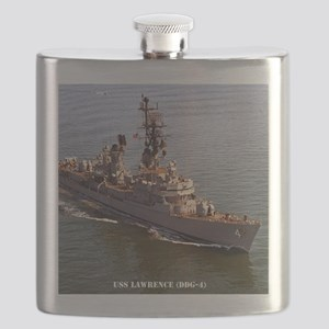 lawrence framed panel print Flask