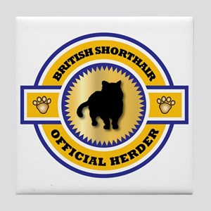 Shorthair Herder Tile Coaster