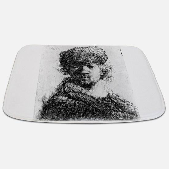 Rembrandt in a heavy fur cap - Rembrandt - 1631 Ba