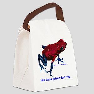 Oophaga pumilio sippy cup Canvas Lunch Bag