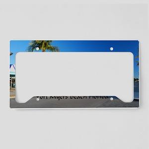 Ft Myers38.5x24.5 License Plate Holder