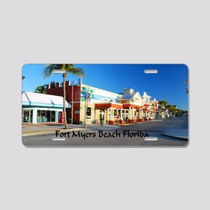 Ft Myers38.5x24.5 Aluminum License Plate