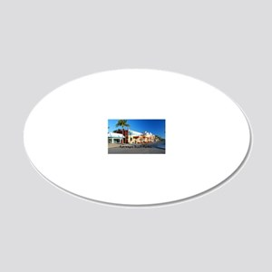Ft Myers38.5x24.5 20x12 Oval Wall Decal