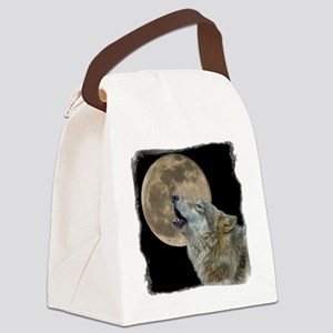 howl 8x8 - frame Canvas Lunch Bag