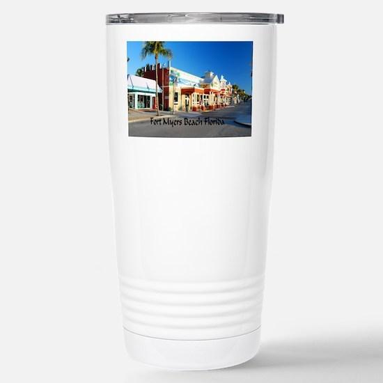 Ft Myers Stainless Steel Travel Mug