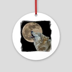 howl 8x8 - frame Round Ornament