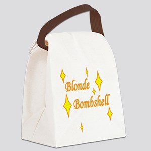 Blonde Bombshell Canvas Lunch Bag