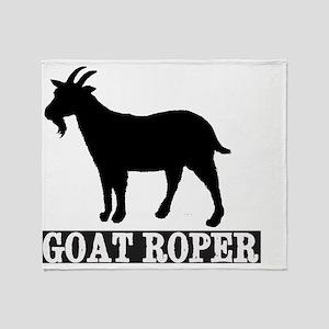 goatroper Throw Blanket