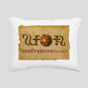 WOR Banner Rectangular Canvas Pillow