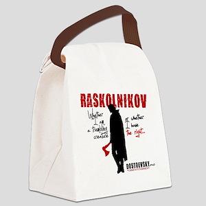 Raskolnikov. Crime and Punishment Canvas Lunch Bag