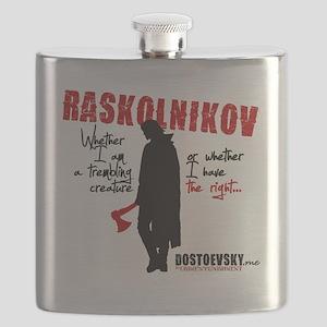 Raskolnikov. Crime and Punishment T-Shirt Flask
