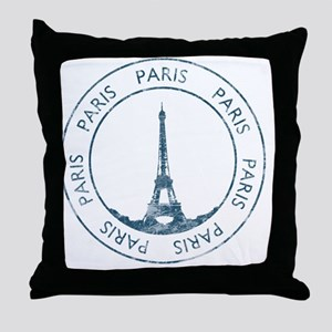 VintageFrance8 Throw Pillow