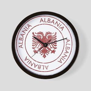 albania9 Wall Clock