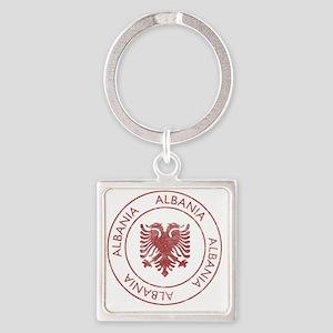 albania9 Square Keychain