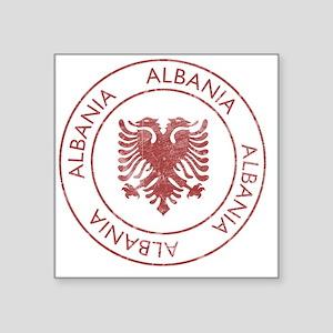 """albania9 Square Sticker 3"""" x 3"""""""