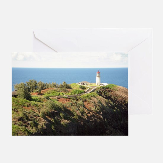 555Kilauealighthouse3.53 MB White sk Greeting Card