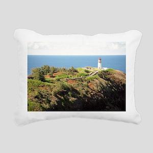 555Kilauealighthouse3.53 Rectangular Canvas Pillow