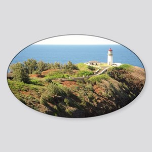 555Kilauealighthouse3.53 MB White s Sticker (Oval)
