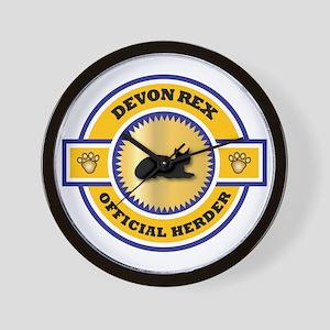 Devon Herder Wall Clock
