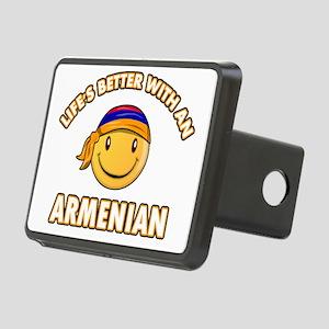 armenia Rectangular Hitch Cover