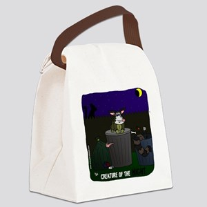 creature of the night Canvas Lunch Bag