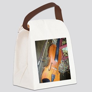 fiddle Canvas Lunch Bag