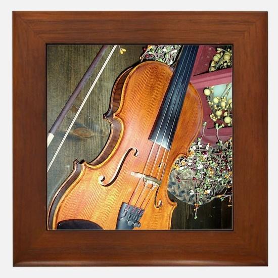 fiddle Framed Tile