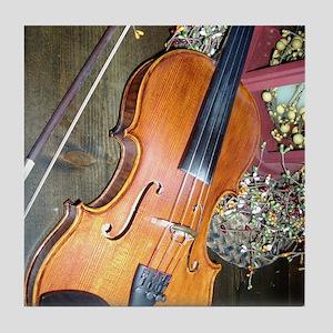 fiddle Tile Coaster