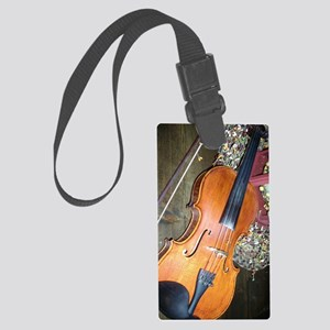 fiddle Large Luggage Tag