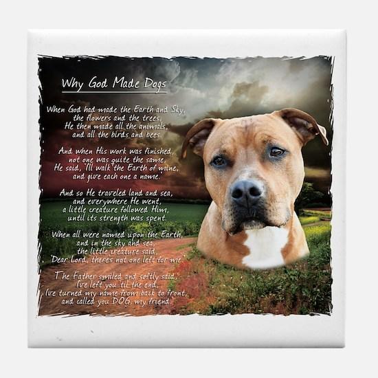 godmadedogs Tile Coaster