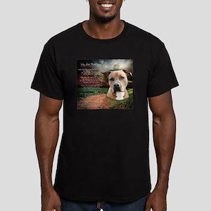 godmadedogs Men's Fitted T-Shirt (dark)