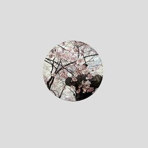 Peak Bloom Cherry Blossom around Japan Mini Button