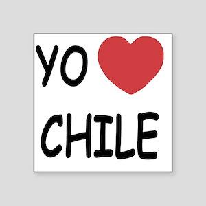 """CHILE Square Sticker 3"""" x 3"""""""