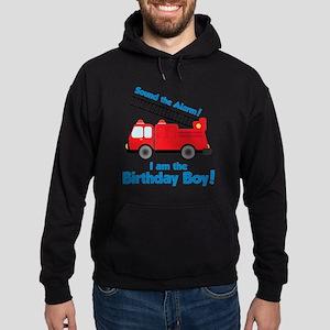 FiretruckBirthdayBoy Hoodie (dark)