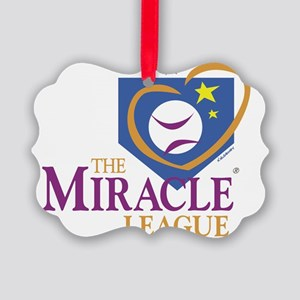 ml logo large Picture Ornament