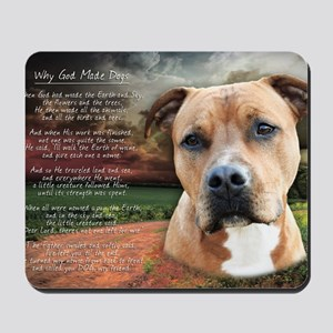 godmadedogs(laptop) Mousepad