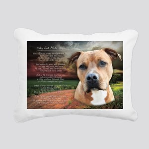 godmadedogs(laptop) Rectangular Canvas Pillow