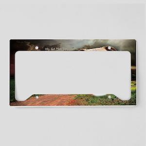 godmadedogs(oval) License Plate Holder