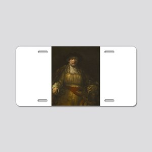Self-portrait - Rembrandt - c1658 Aluminum License