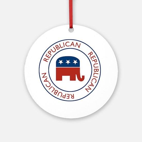 RepublicanPassport1 Round Ornament