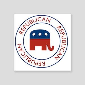 """RepublicanPassport1 Square Sticker 3"""" x 3"""""""