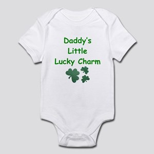 Daddy's Little Lucky Charm Infant Bodysuit