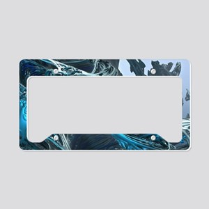 Tellurian Ice Age License Plate Holder