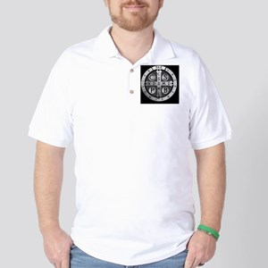 BenedictMedal_ButtonLarge Golf Shirt