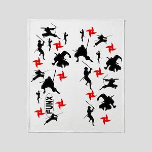 Ninja Throw Blanket