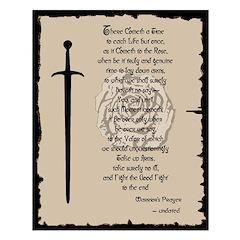 Warrior's Prayer Posters