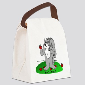 youre next Canvas Lunch Bag