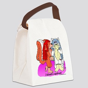 kiss Canvas Lunch Bag